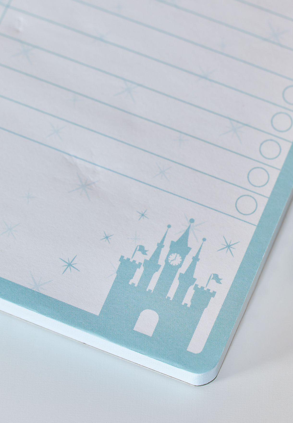 Disney Princess Weekly Planner