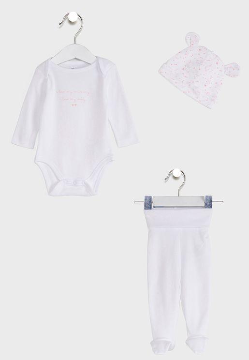 Infant Printed Gift Set