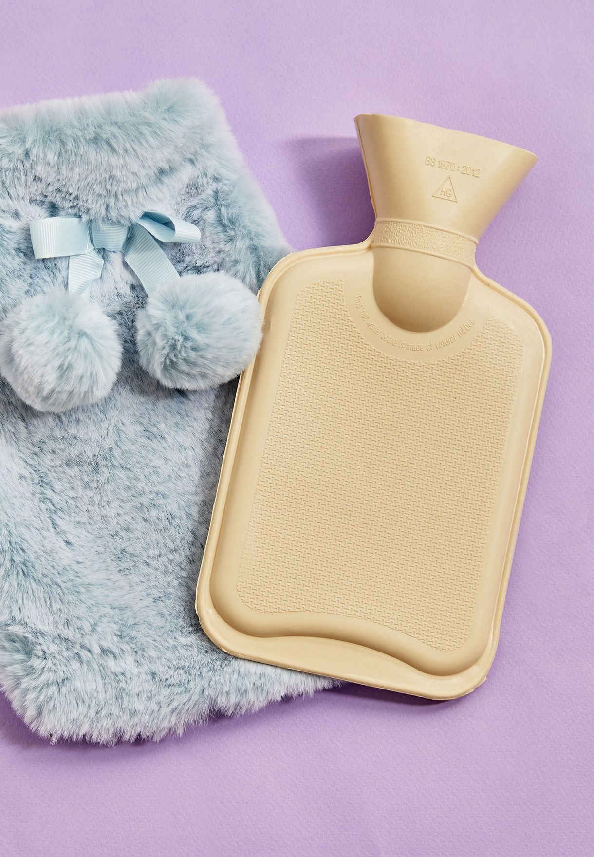 Hot Water Bottle & Socks Gift Set