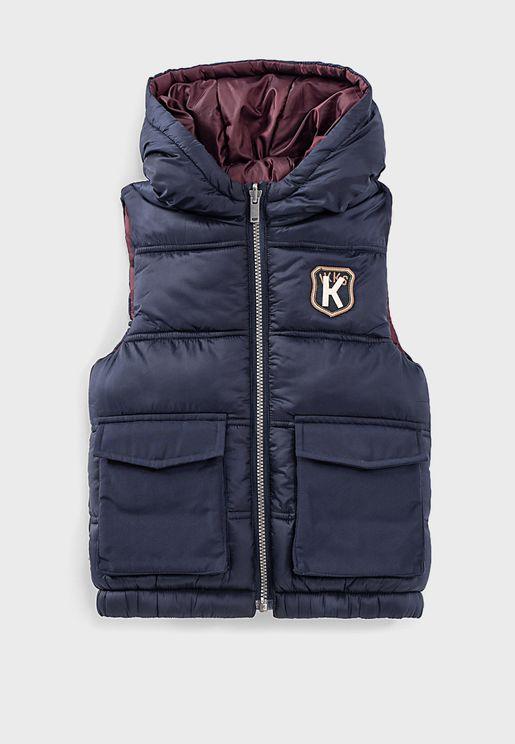 Kids Reversible Padded Jacket