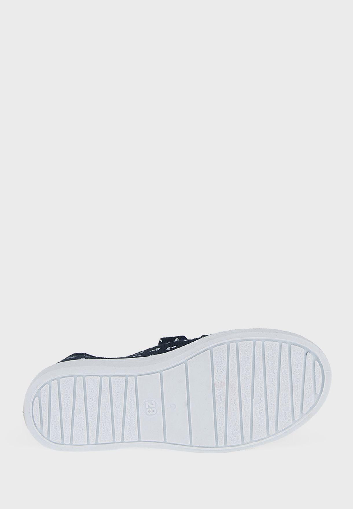 Kids Low Top Velcro Sneaker