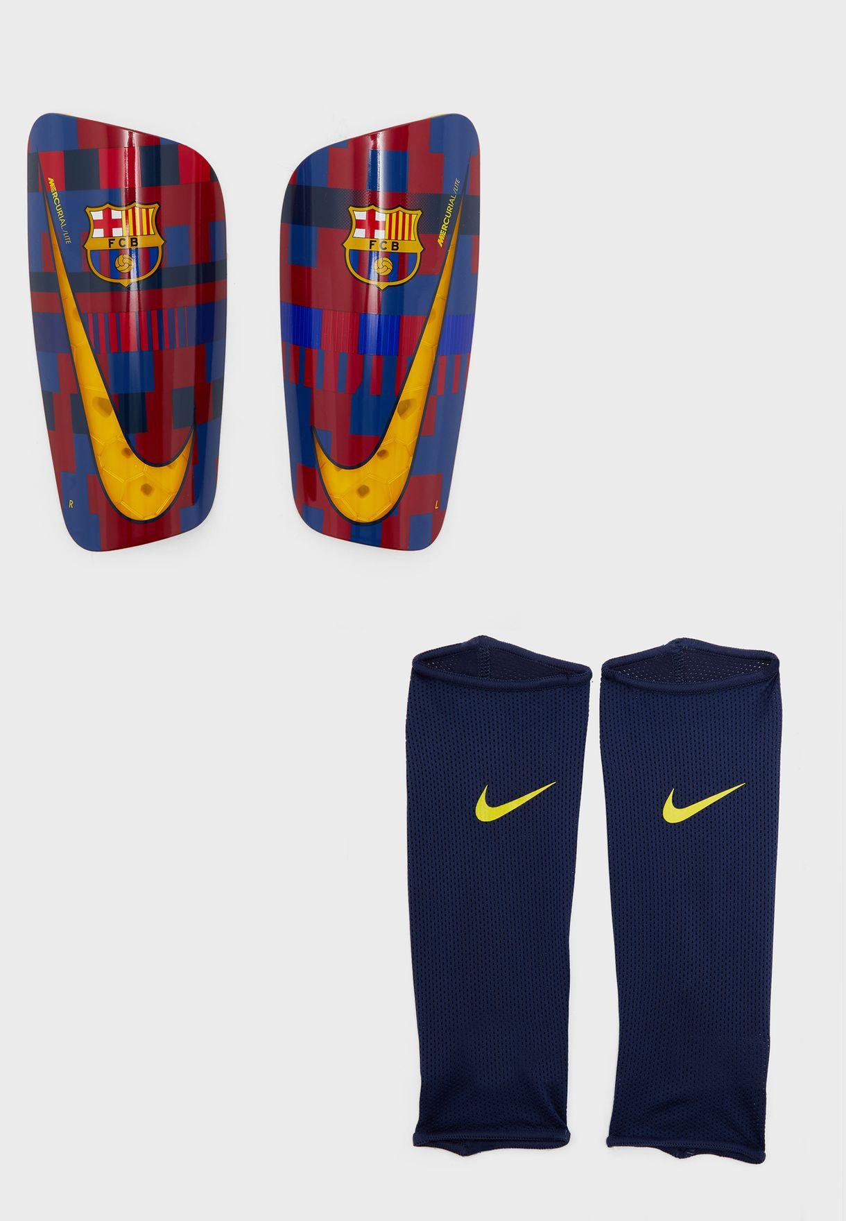 F.C Barcelona Shin Pads Kids Sport Football Gift Idea