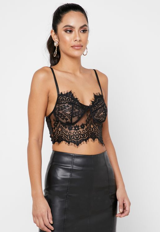 Cami Strap Lace Top