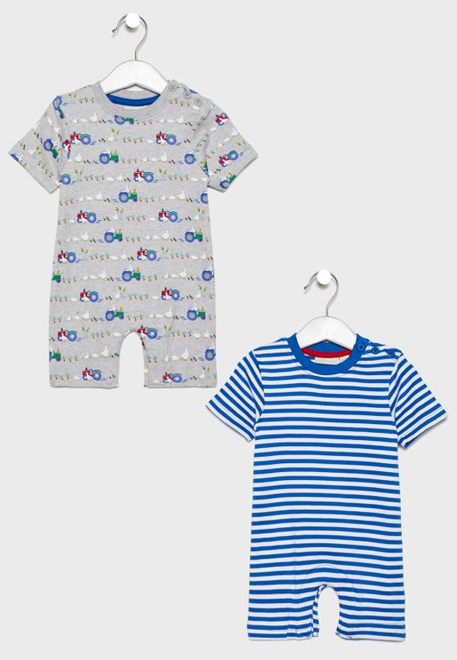 Infant 2 Pack Rompers