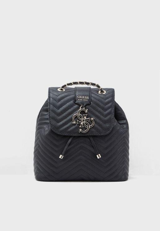 Violet Straps Backpack