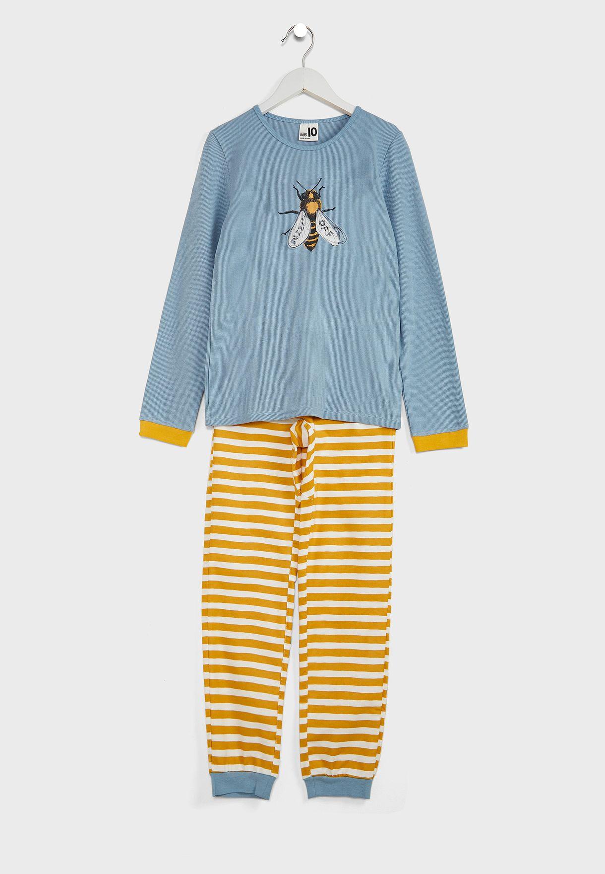 Kids Buzz Off Pyjama Set