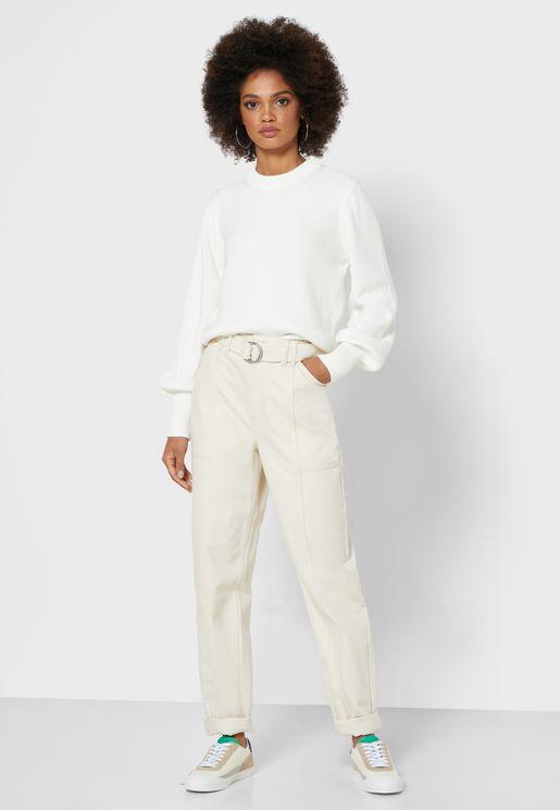 Roldana Belted Pants