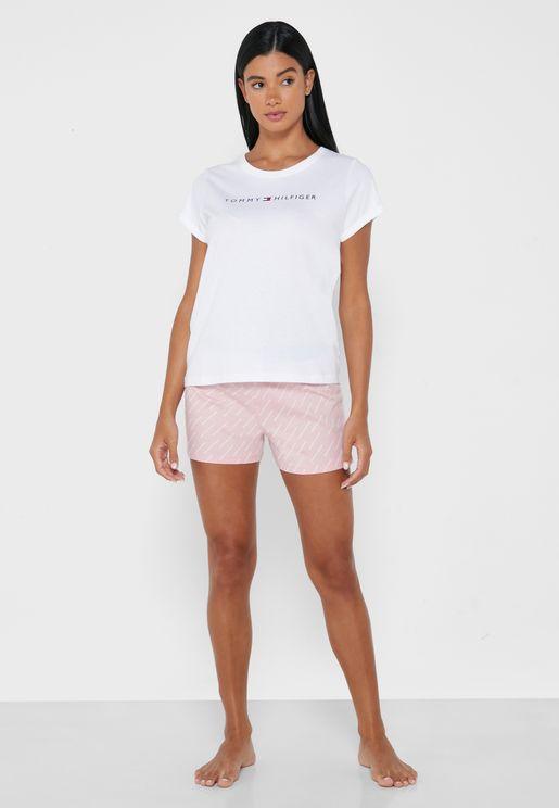 Logo T-Shirt & Shorts Set