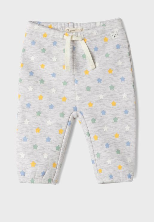 Infant Star Print Sweatpants