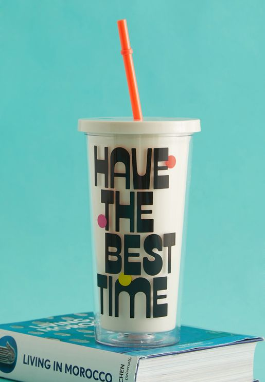 Best Time Tumbler With Straw
