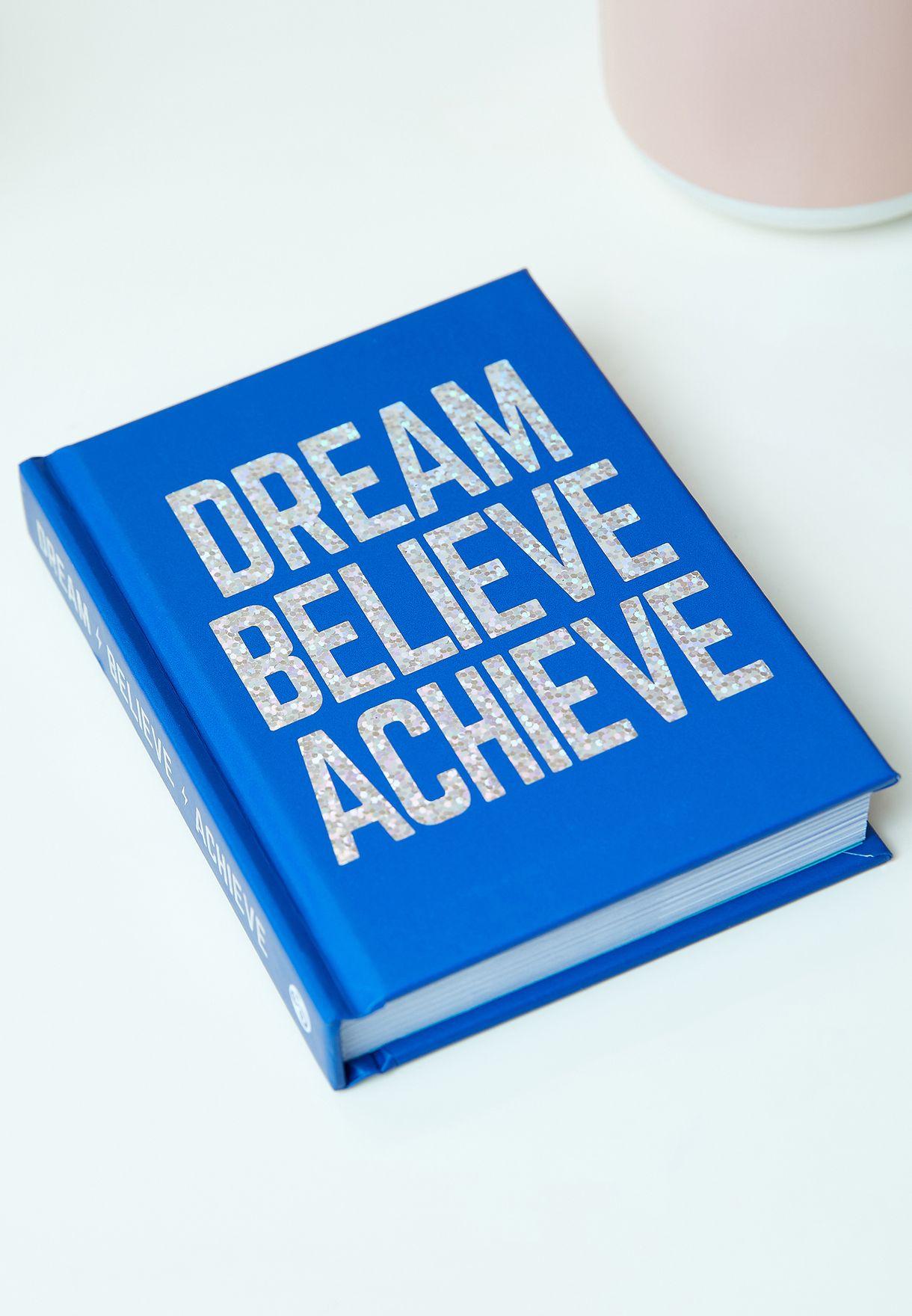 كتاب Dream, Believe, Achieve