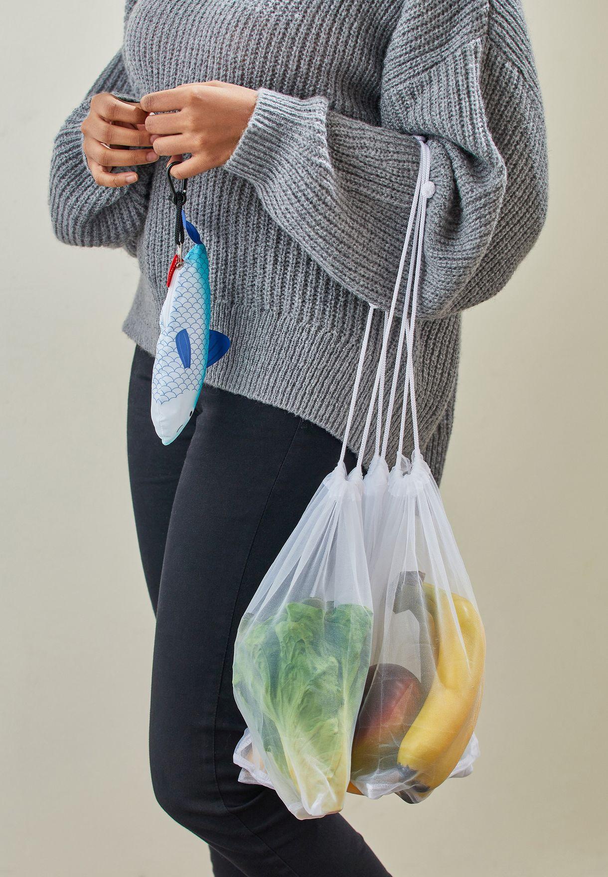 Fish Shaped Produce Bag