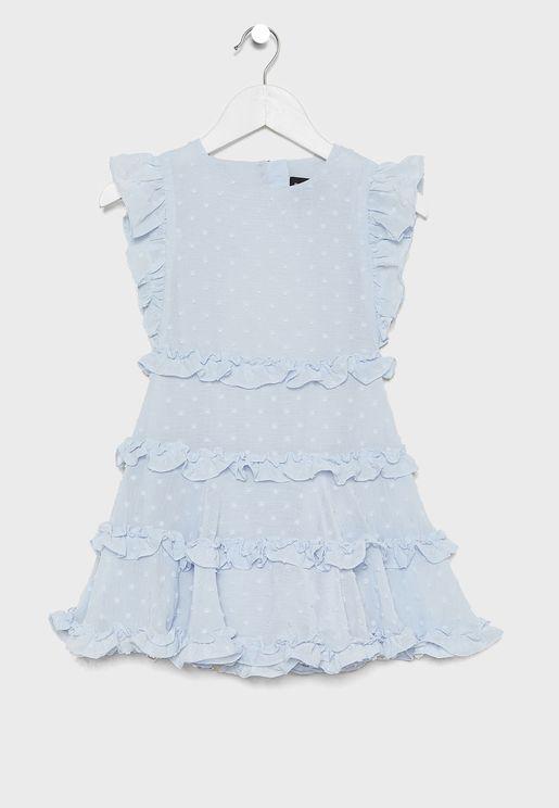 Kids Maryam Frill Dress