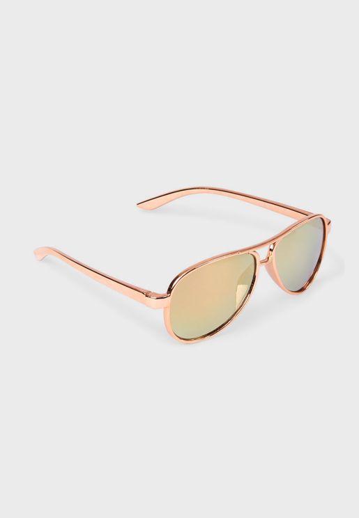 Youth Aviator Sunglasses
