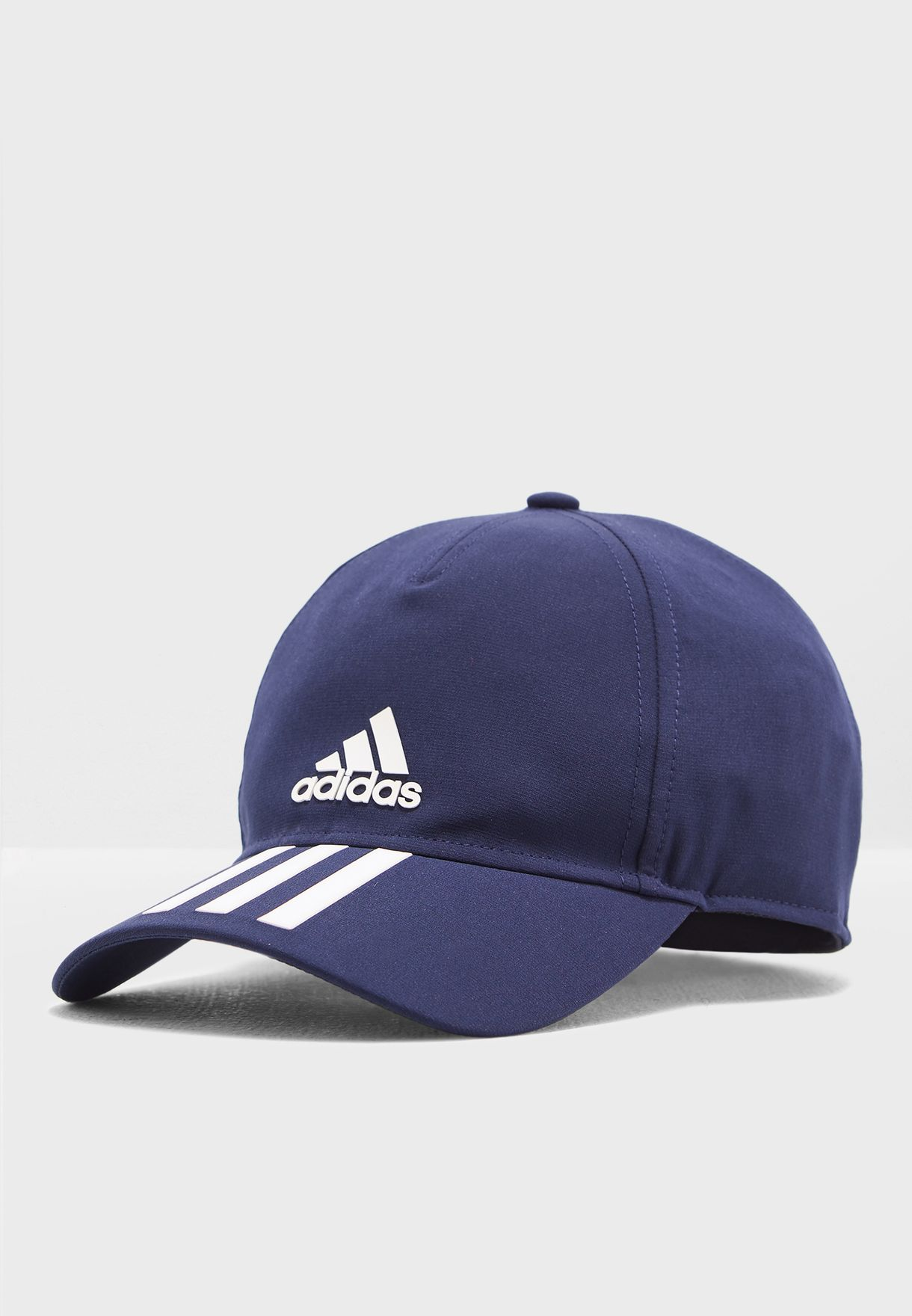 a9539a66e2f Shop adidas navy C40 6 Panel 3 Stripe Climalite Cap DT8543 for Men in Saudi  - 14448AC65FNP