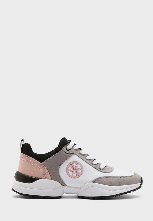 Contrast Mesh Sneaker