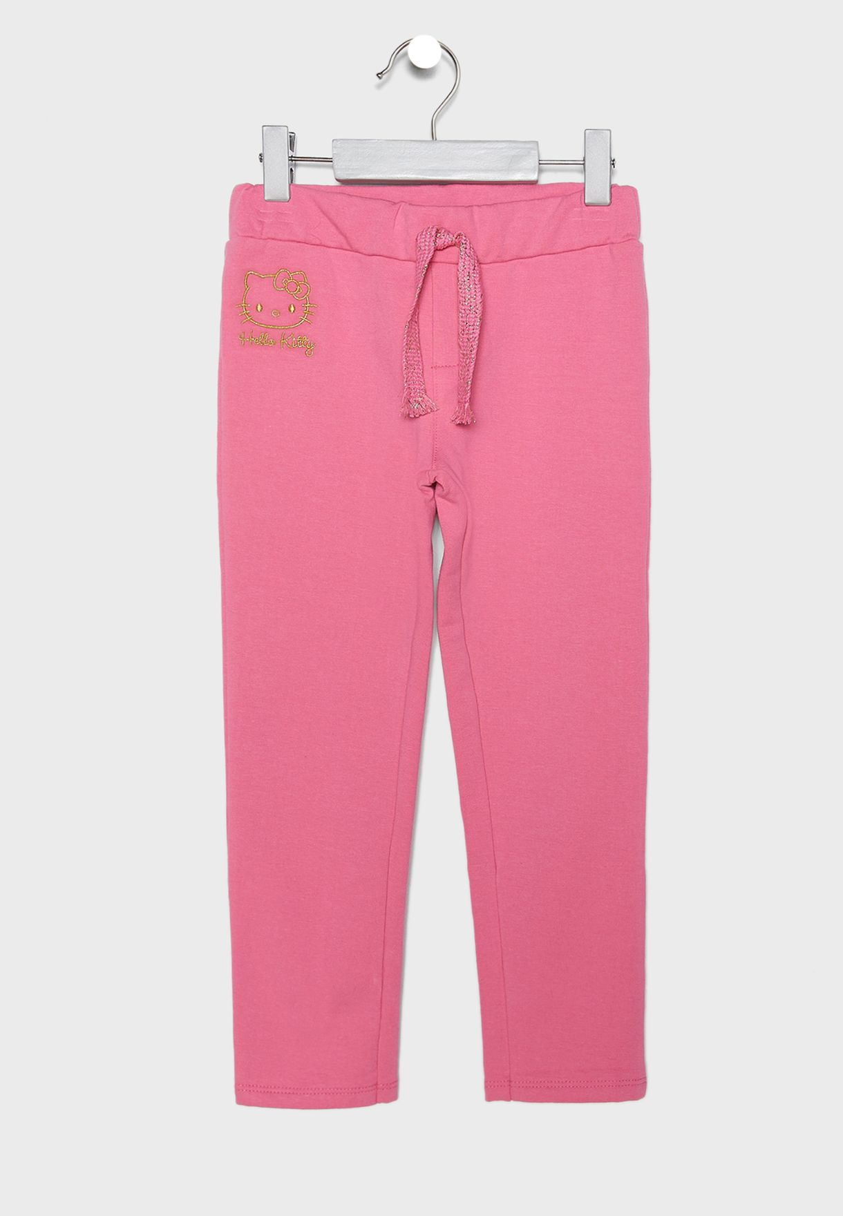 ce63129d6 Shop Hello Kitty pink Little Logo Sweatpants 87835 for Kids in UAE ...