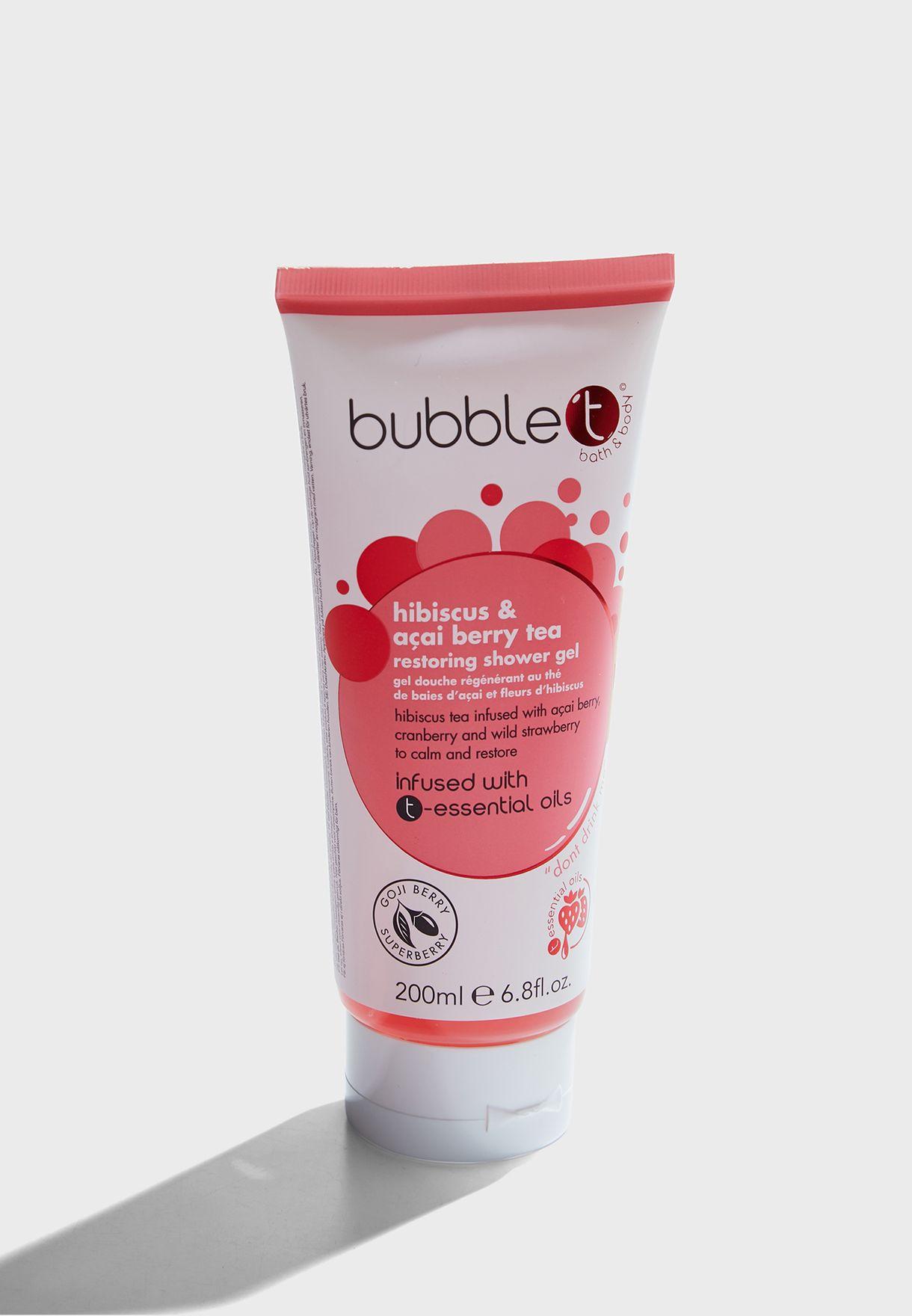 Hibiscus & Acai Berry Shower Gel