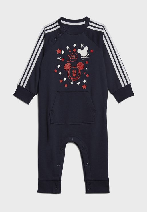 Infant Disney Mickey & Minnie Romper