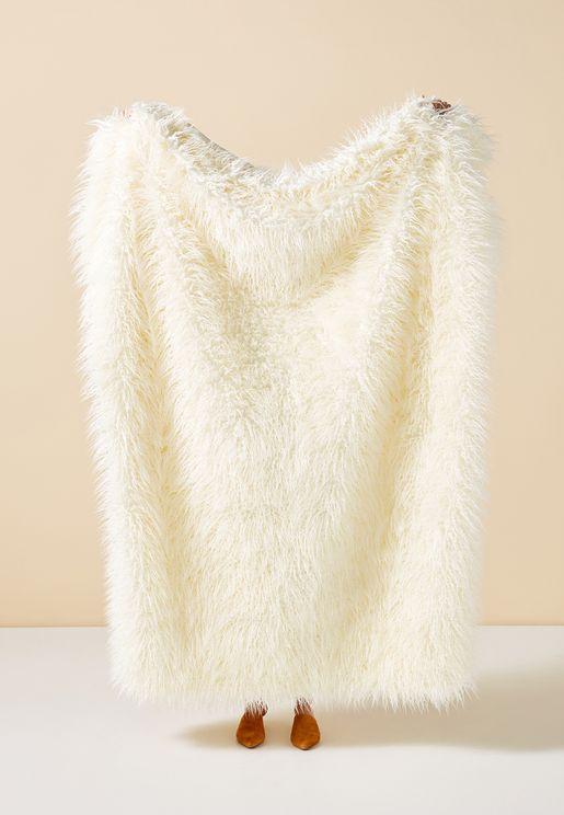 Makura Faux Fur Throw Cushion
