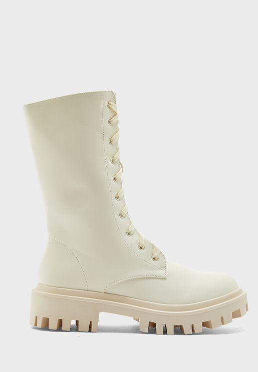 Beau High Heel Ankle Boot