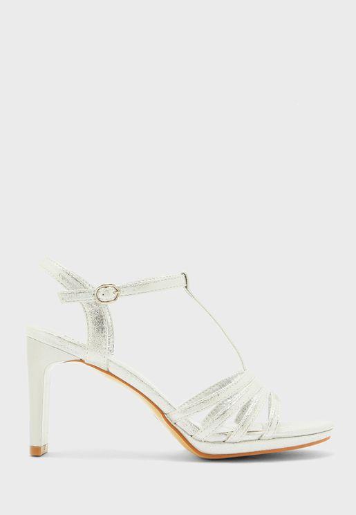 Ankle Strap High Heel Sandals