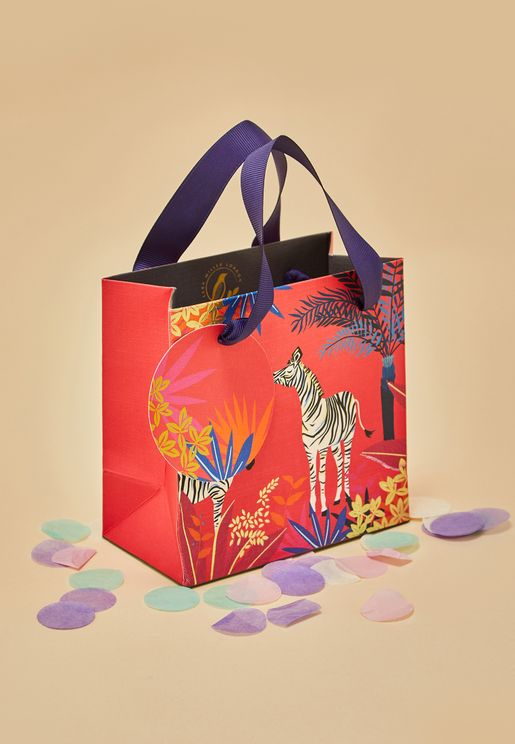 Zebra Small Gift Bag