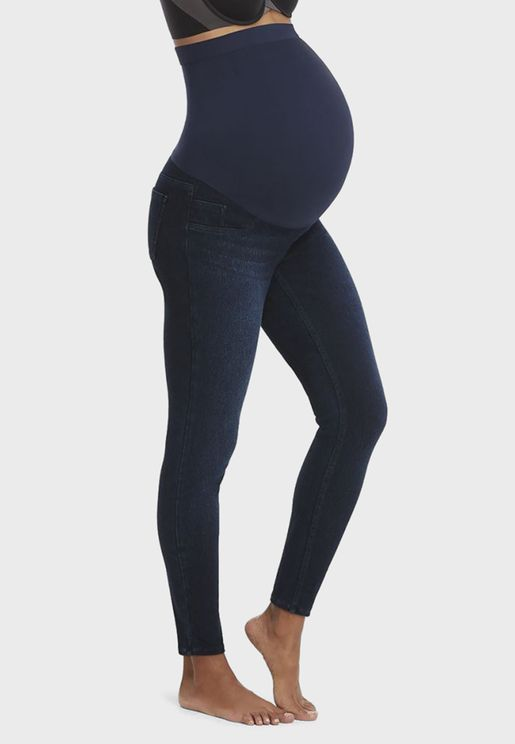 Mama Ankle Jean-Ish Leggings