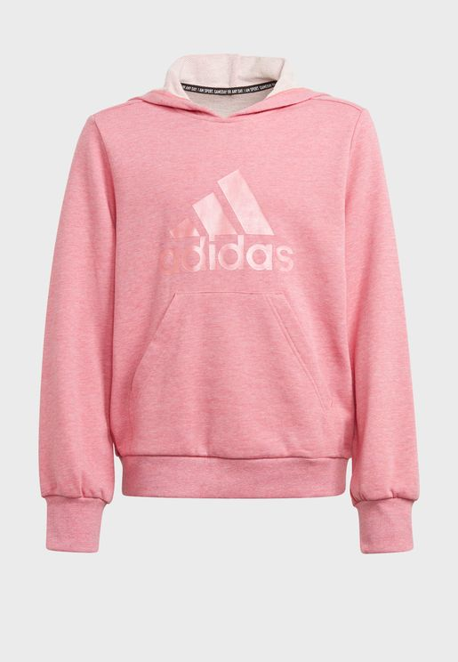 Youth Badge Of Sports Hoodie