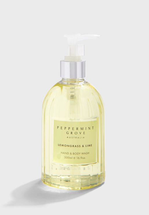 Lemongrass & Lime Hand and Body Wash 500ml
