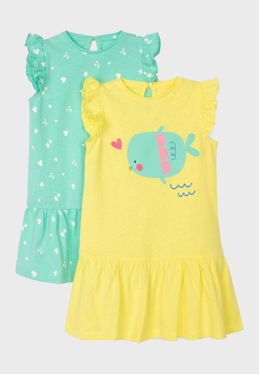 Infant Kids Graphic Dress