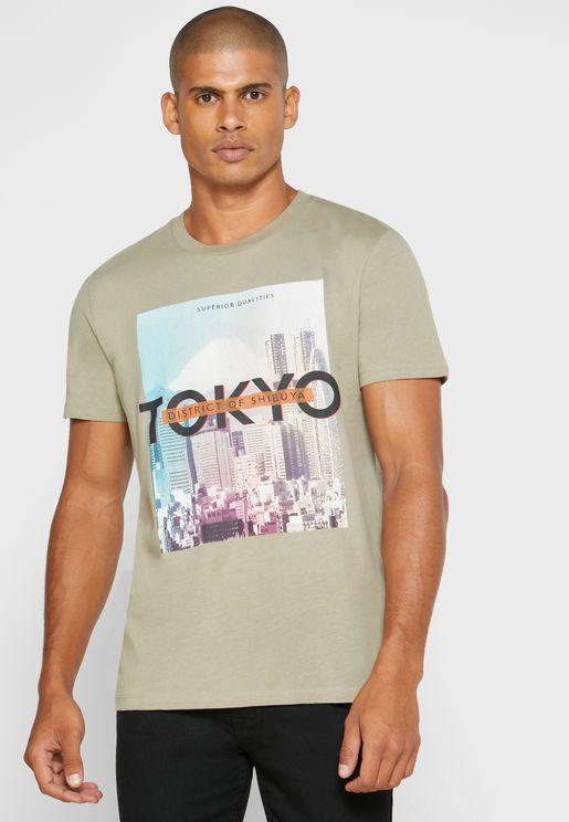 Tokyo Crew Neck T-Shirt