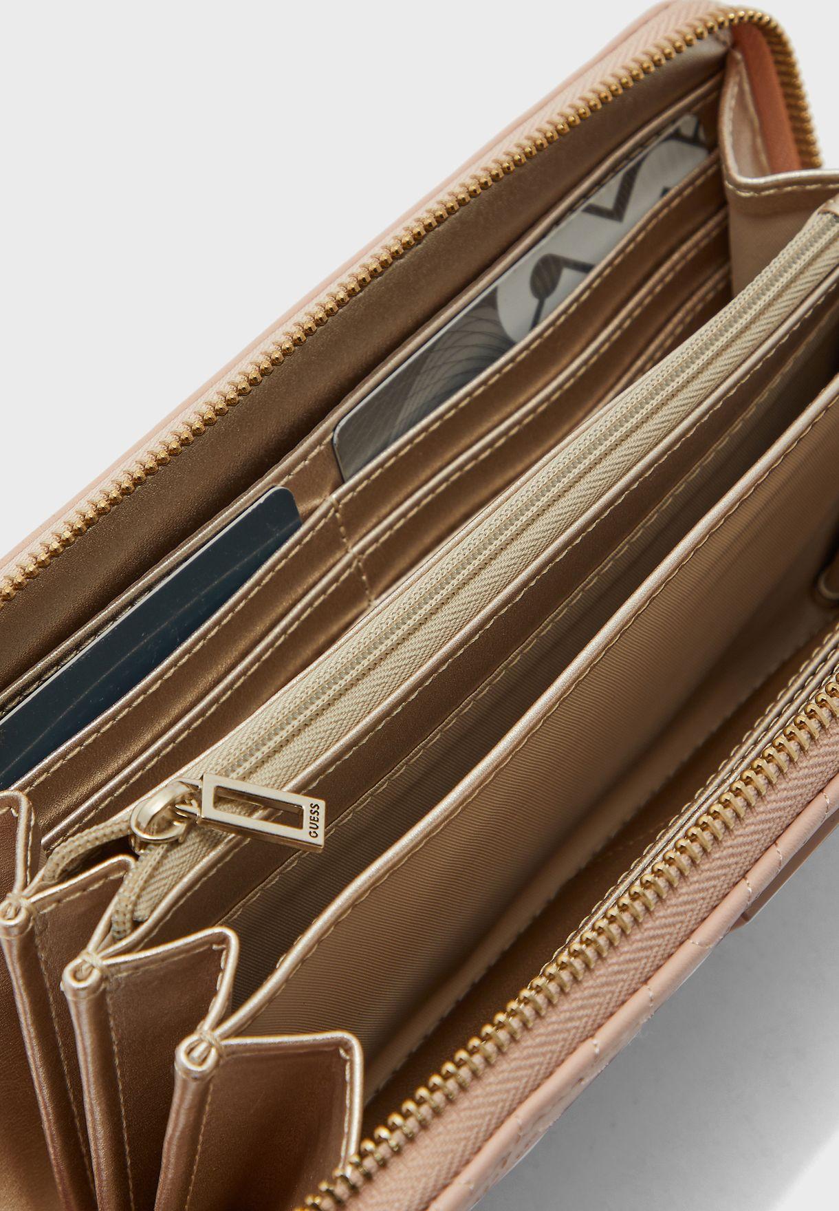 محفظة كبيرة ذات سحاب
