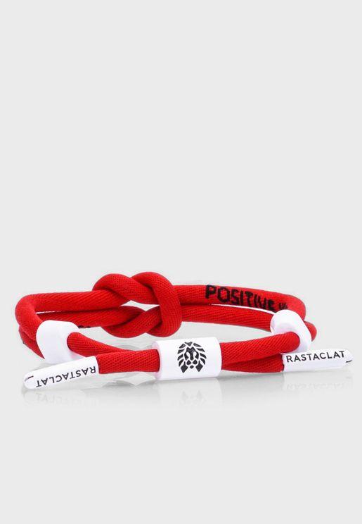 Positive Vibes Knotted Bracelet