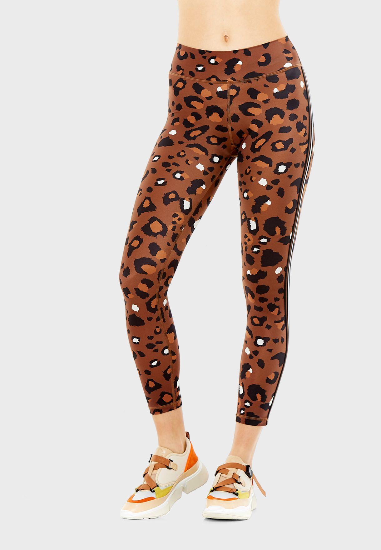 Tobacco Leopard Leggings