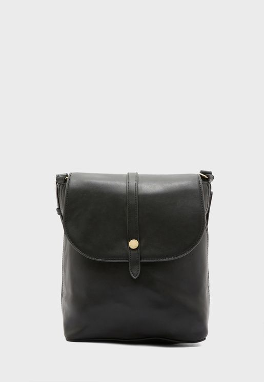 Front Button Detail Backpack