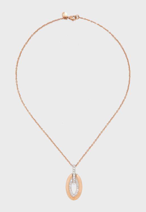 Norcia Oval Stone Necklace