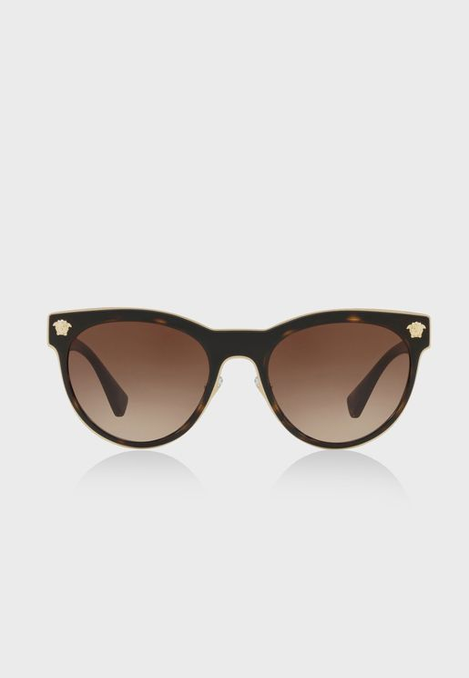 0VE2198 Havana Sunglasses