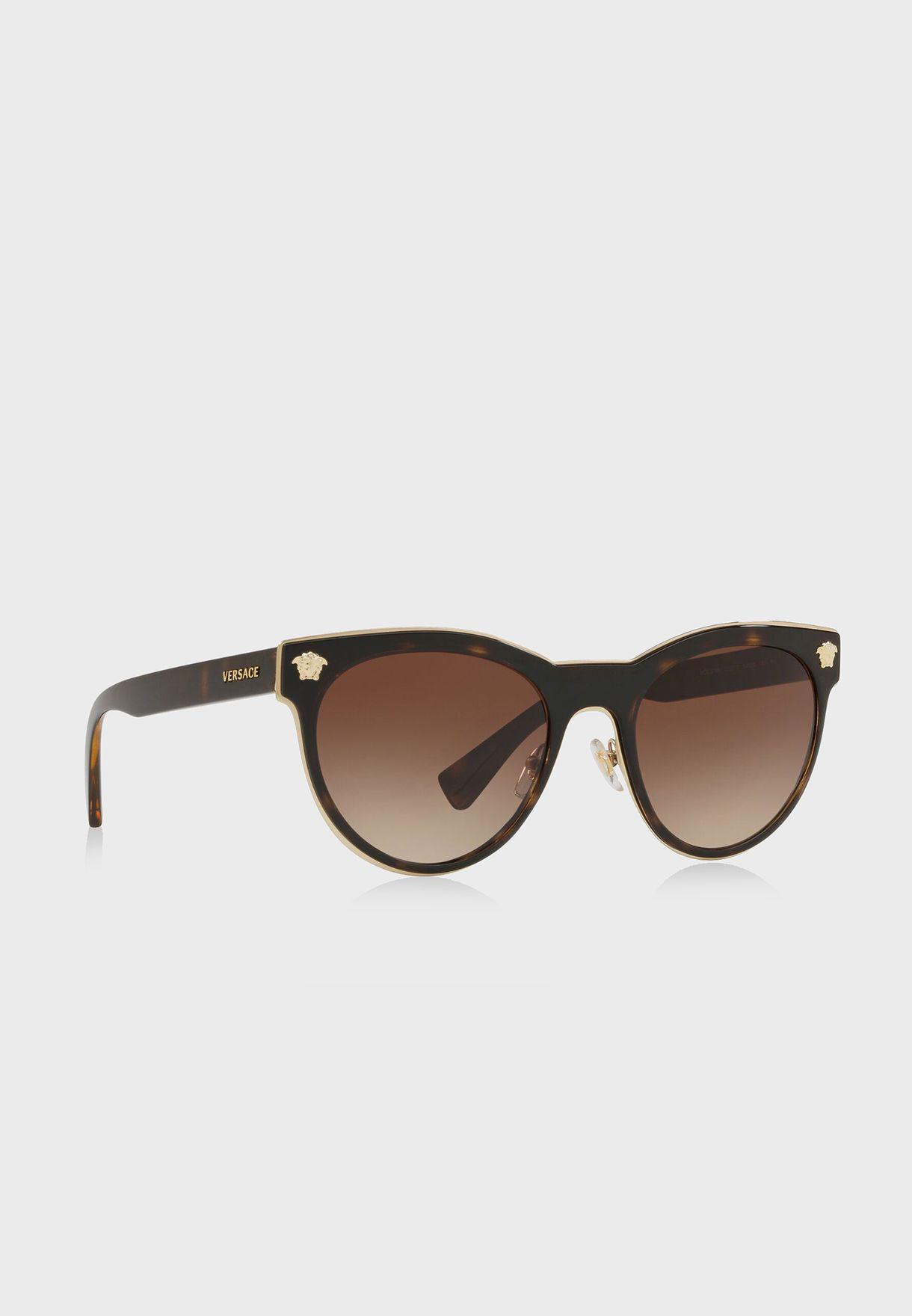 0VE2198 Havana Sunglasses