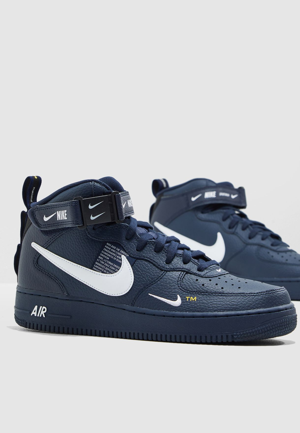 newest a1308 a2974 Shop Nike navy Air Force 1 Mid '07 LV8 804609-403 for Men in ...