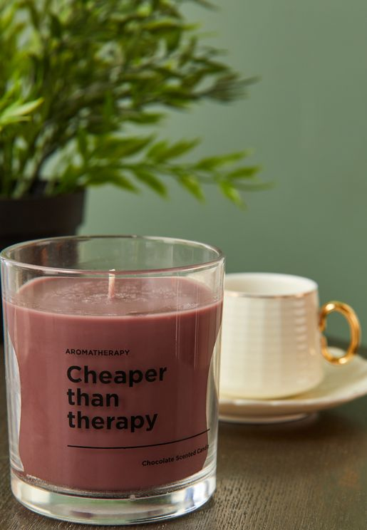 Chocolate Therapy Scented Candle
