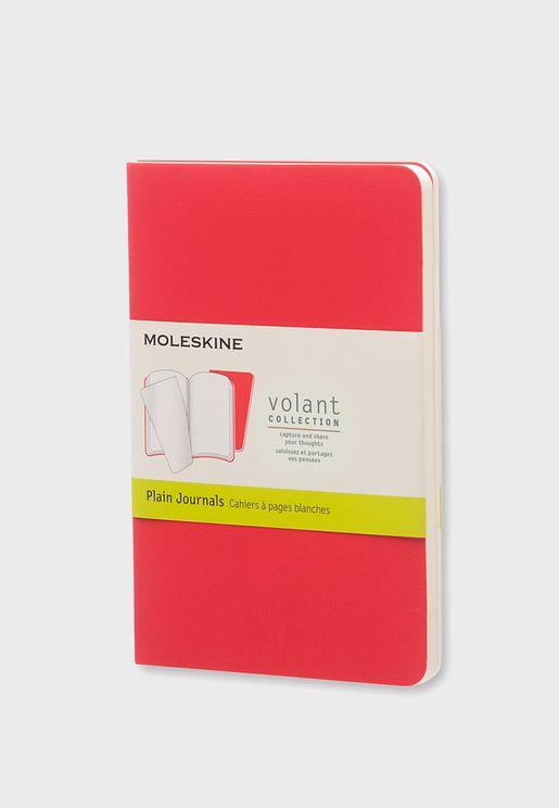 Plain Geronium Volant Pocket Journal