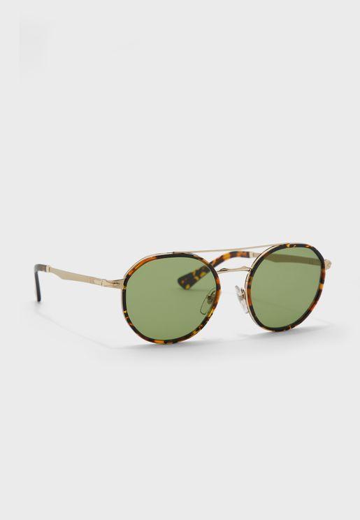 0PO2456S Round Sunglasses