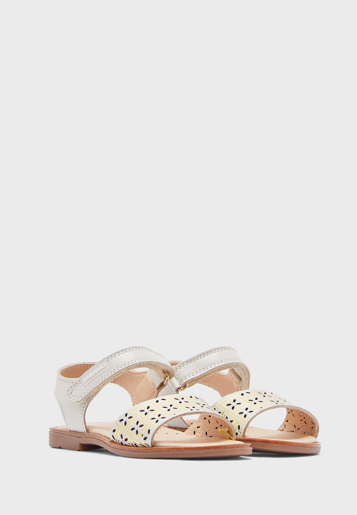 Kids Perforated Sandals