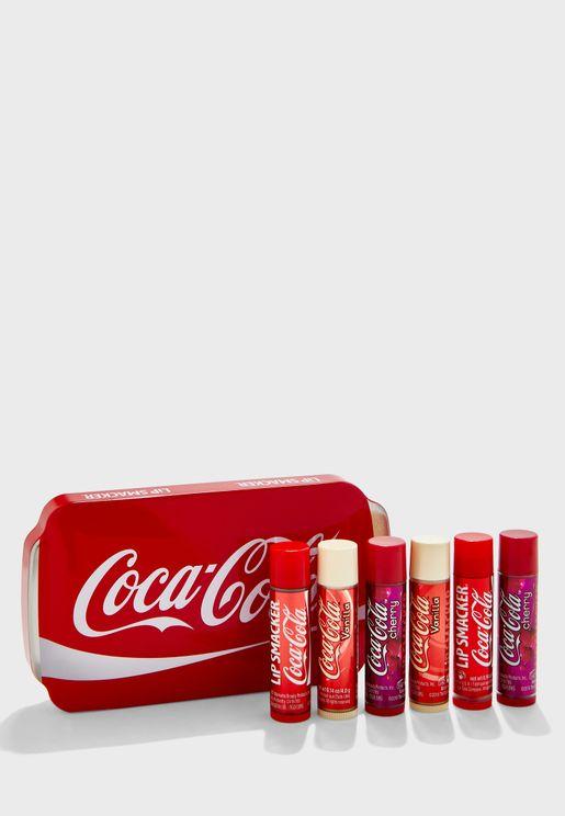 6 Pack Coca Cola Lip Balm