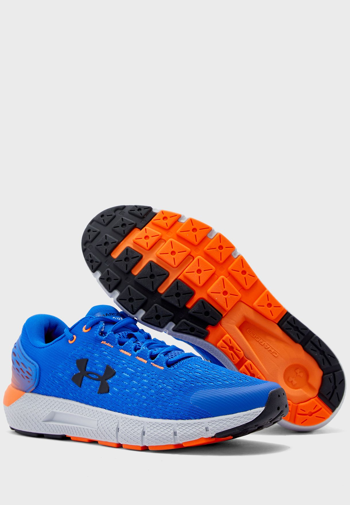 UA Under Armour Charged Rogue 2 Mens Running Shoes 3022592-401 Trainers Blue