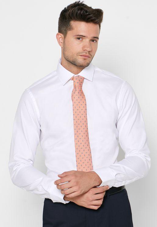 Oxford Button Cuff Shirt