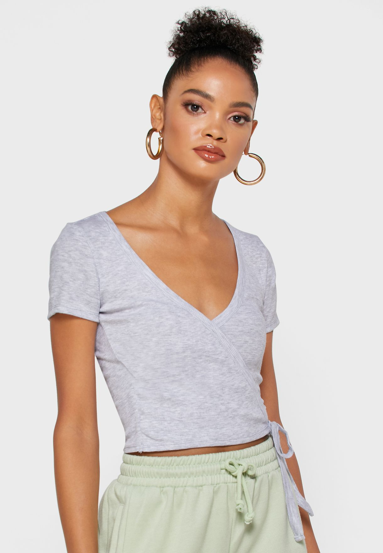 2 Pack Wrap Top