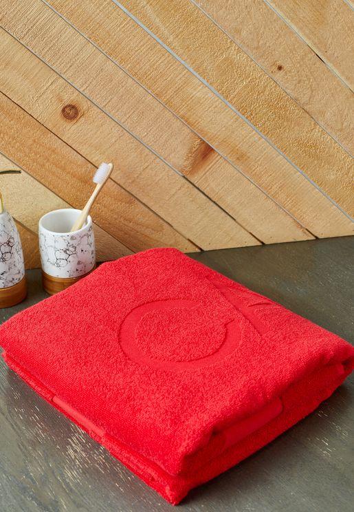 Logo Beach Towel 91x183cm