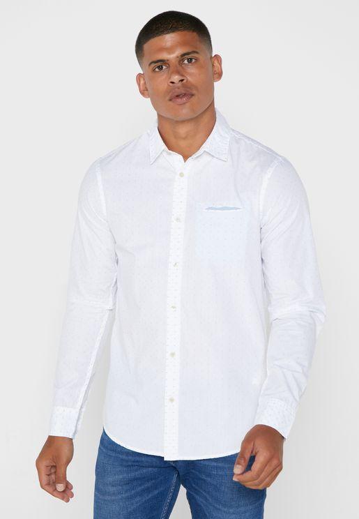 Embroidered Regular Fit Shirt